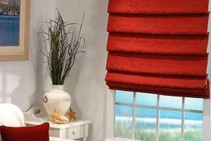 Римские шторы. Дизайн интерьера.