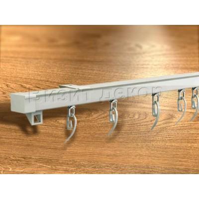 Алюминиевый карниз профиль KS Lux