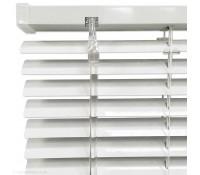 Белые жалюзи ЭКОНОМ 25 мм. | 16 мм.