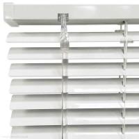 Белые жалюзи ЭКОНОМ 25 мм. | 16 мм. 189.0 грн /м²