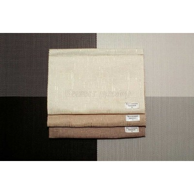 Римская штора ткань Лён с отливом