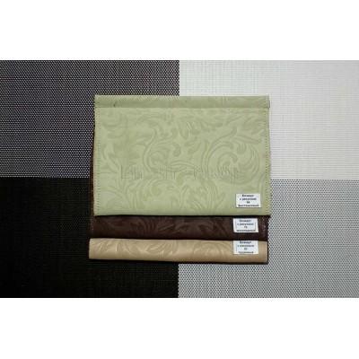 Римская штора ткань Блэкаут с рисунком