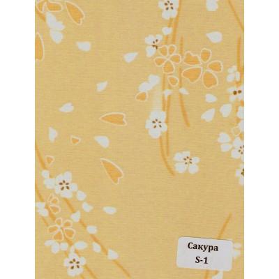 Ткань с рисунком: Сакура