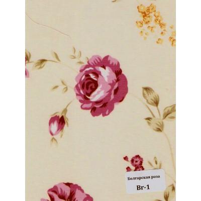 Ткань с рисунком: Camilla, Китайская и Болгарская розы